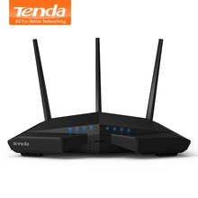 Tenda AC18 1900Mbps Dual-band Gigabit Wireless WiFi Router, WiFi Repeater, 1300Mbps at 5GHz, 600Mbps at 2.4GHz, USB 3.0, IPv6