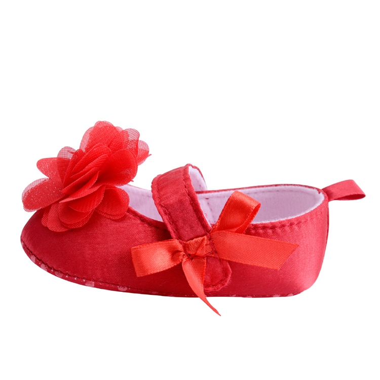 Flower Spring / Autumn Infant Baby Shoes Moccasins Newborn Girls Booties for Newborn 3 Color Available 0-18 Months 16
