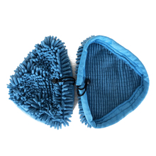 Practical Microfiber Pads Washable Coral Cloth for H2O H20, VAX S2 & Bionaire Steam Mop Blue