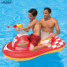 New arrival  Water Gun Motorboat Children's Water Supplies Large Boats  Pool Inflatable Toys