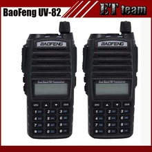 2pcs/set Hot walkie talkie UV 82 baofeng 1 pair Portable Radio Baofeng UV-82 With Earphone CB Ham Radio Vhf Uhf Dual UV82 radio