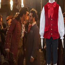 2017 Movie Beauty and the Beast Lefou Cosplay Costumes Men Outfit  Halloween Carnival Clothing Custom Made CS374152