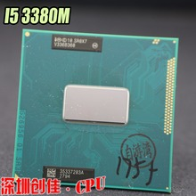 Original intel Core i5 3380M 2.9 GHz 3M Dual Core SR0X7 I5-3380M Notebook processors Laptop CPU PGA 988 pin Socket G2 processor