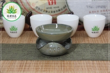 Yixing clay Kung fu tea set filter Jun glaze