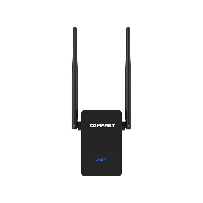 Newest 750Mbps COMFAST CF-WR750ACV2 Wireless WIFI Repeater Router Dual Band 2.4G/5G 2*5dBi 802.11AC Roteador Extender Amplifier