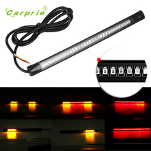 2017 AUTO car-styling Flexible 12V 48 LED Turn Signal Light Motorcycle Brake Stop Signal Light motorcycle accessories HOT sale