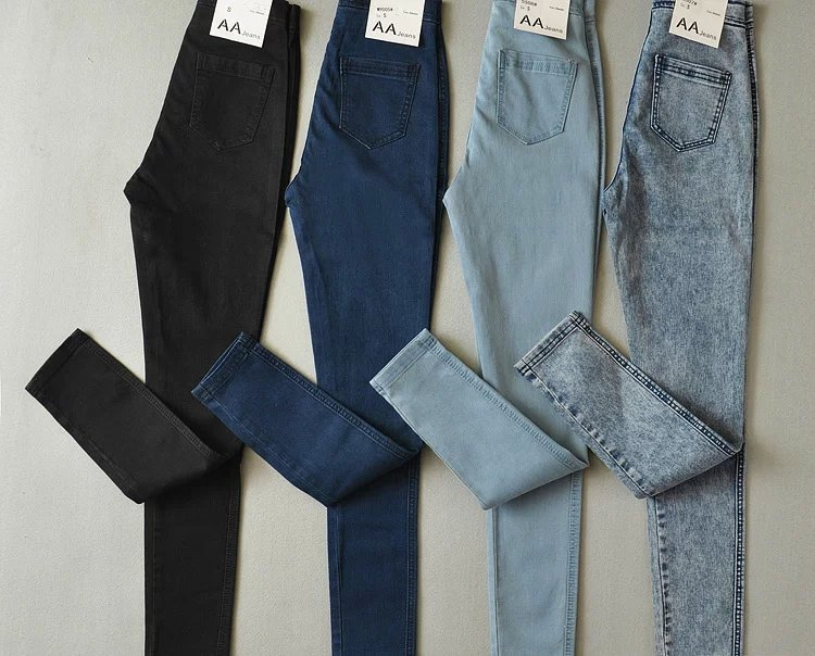American Sexy Slim Hip High Waist Skinny Jeans Elastic Trousers FemaleОдежда и ак�е��уары<br><br><br>Aliexpress