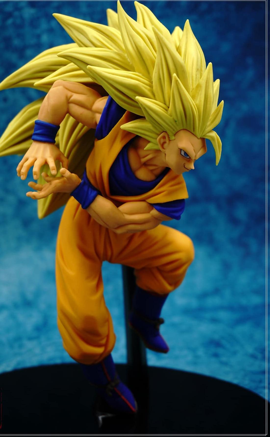 SCultures BIG Dragon Ball Z Super Saiyan 3 Son Sokou Goku PVC Action Figure Collectible Model Toy 18cm KT3210<br><br>Aliexpress