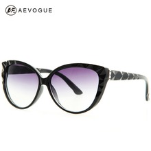 AEVOGUE Cat Eye sunglasses women good quality newest brand  Fashion spectacles optic sun glasses Oculos UV400 AE0163