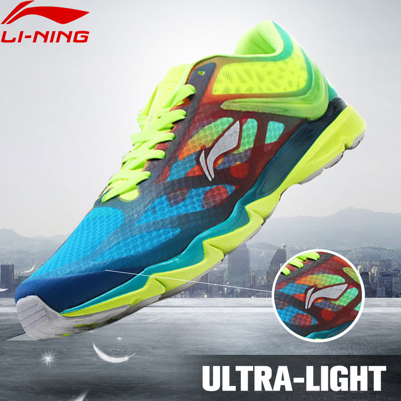 LI-NING Ultra-light 12 Generations Wing Air Mesh Breathable Super light XII Sport Shoes Sneakers Running Shoes ARBK019 XYP037<br>