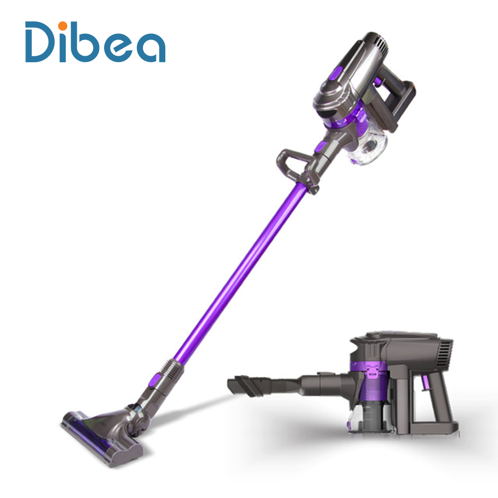 Dibea F6 2-in-1 Wireless Vacuum Cleaner Upright Stick and Handy Vacuum Carpet Cleaning Powerful Car Vacuum Cordless Vacuum(China (Mainland))