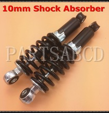 1 Pair 10mm Shock Absorber 110CC 125CC ATV Quad Dirt Bike Scooter Motorcycle Parts