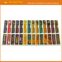 280pcs=140sets/lot Game Theme Sticker Lables Set Game Shell Seals Label Personalized Stick for Gameboy Advance for GBA Console