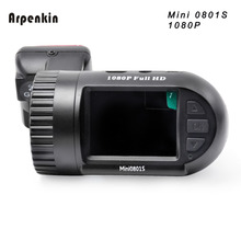 Arpenkin Mini 0801S Car Camera Digital Video Recorder Dashcam Upgrade Mini 0801 1080P+G-Sensor+Motion Detection+Super Capacitors