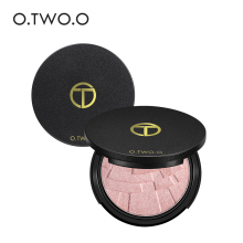 O.TWO.O Glow Kit Powder highlighter Maquillage Imagic Illuminator Brightening Face Baked Highlighter Powder(China)