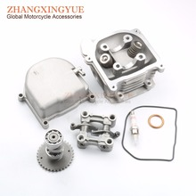 Buy 80cc non-egr Cylinder Head Kit & Bolt & A7T & Camshaft & Rocker & Cylinder Head GY6 50cc Upgrade 80cc 139QMB scooter for $5.99 in AliExpress store