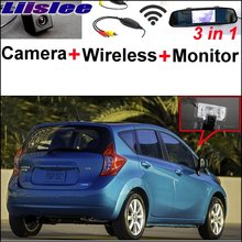 Liislee 3 in1 Special Camera + Wireless Receiver + Mirror Monitor Easy Back Up Parking System For Nissan Versa Note 2013~2017(China)