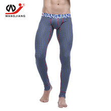 WJ Pants Men Compression Clothing Sweatpants Pantalones Hombre Cotton Leggings Men Sexy Sports Pants Men Compression Clothing