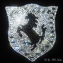 1Pcs/Lot Hot Fix Rhinestone Iron On Heat Transfer cheerleading iron on transfers