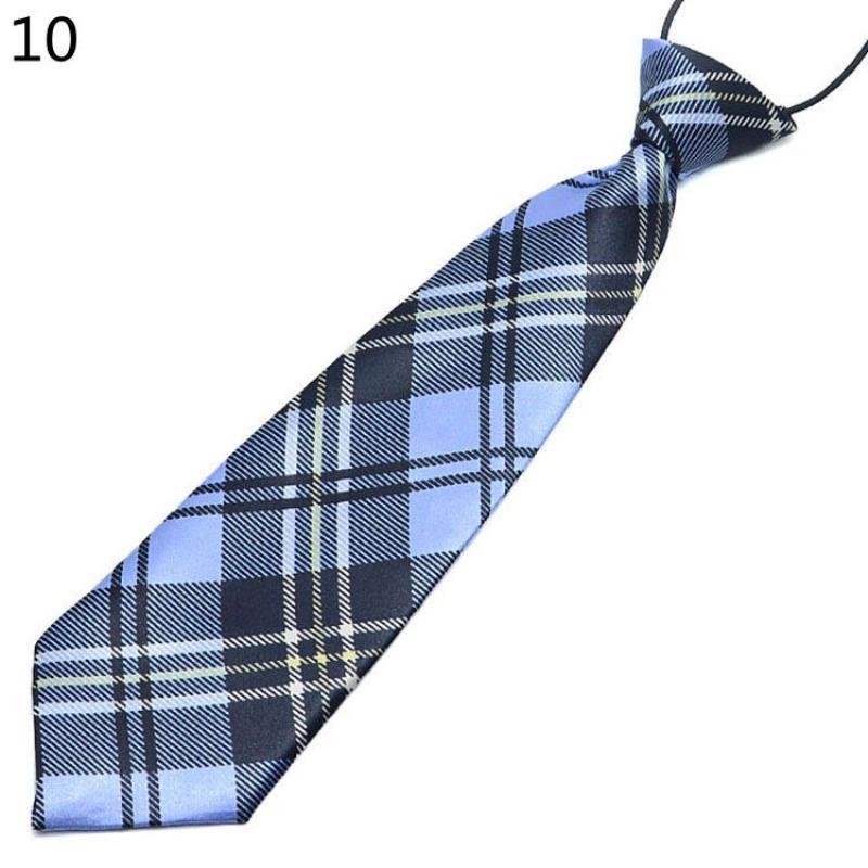 Fashion Boys Girls Kindergarten School Uniforms Children's Ties Striped Plaid Necktie