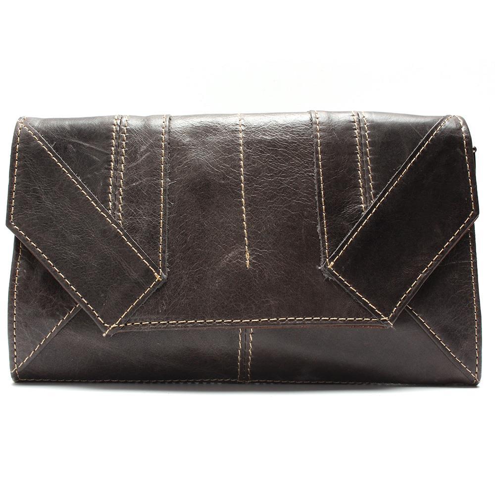 Oil Waxing Clutch 100% Genuine Leather Fashion Sytle Shoulder Bag Women Handbag Retro Ms. Full Leather Bag<br><br>Aliexpress