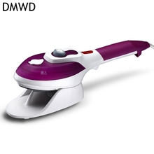 DMWD Handheld Ceramic floor Garment Steamer Portable Steam iron Brush Mini Household Multifuncation Travel Essentials(China)