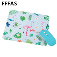 FFFAS 22x26cm Flamingo Unicorn Mouse Pad Beautiful Office Gaming Gaming Keyboard Mat(China)