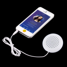 1pc/ 2pcs Mini White 3.5mm Pillow Speaker Earphone Headphone for Sleeping for MP3 MP4 Player for iPod Hot New Arrival