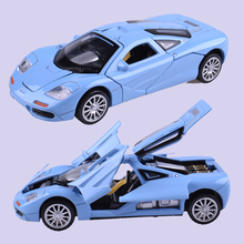 1/32 Electronic Diecast Collection Alloy Mclaren Sport Car Model Toy With Pull Back Model Car Kids Toys Collection