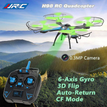 Rc Quadcopter With Camera HD Mini Flying Camera Helicopter 2.4G 4CH Dron Headless Mode Copter Remote Control Drones JJRC H98(China)