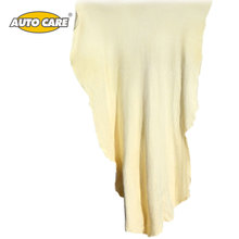 Auto Care Natural Chamois Leather Car Cleaning Cloth Genuine Leather Wash Suede Absorbent Quick Dry Towel Streak Free Lint Free
