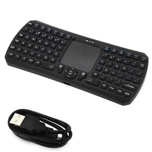 IBK - 26 Mini Wireless Bluetooth3.0 Keyboard Air Mouse Combo for Computer Android TV Box / Dongle / Projector / Phone  X