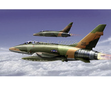 trumpeter 1/72 01650 F-100F Super Sabre Assembly Model kits building scale model plane 3D puzzle plane(China)