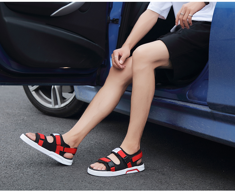 YRRFUOT Summer Big Size Fashion Men's Sandals Outdoor Hot Sale Trend Man Beach Shoes High Quality Non-slip Adult Flats Shoes 46 30 Online shopping Bangladesh