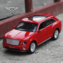 Double Horses 1:32 free shipping Bentley adds more Alloy Diecast Car Model Pull Back Toy Car model Electronic Car Kids Toys