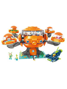 Enlighten Building-Block Vehicle Hammerhead Shark Octo-Pod Octonauts Educational-Bricks