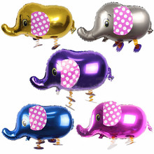 New Walking Animals Pet Balloon Foil Elephant Balloon Inflatable Air Balloons Toy Gifts For Kids Birthday Wedding Party Balloon