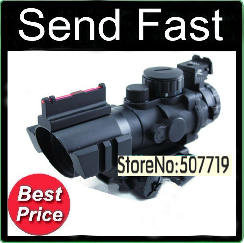 Free shipping SNIPER LT-4X32 optical sight conch Rifle Scope with Free Mounts<br><br>Aliexpress