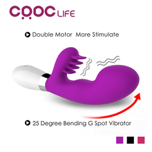 CRDC 2017 Hot 36 Speeds G Spot Vibrator Waterproof Oral Clit Adult Vibrators Massager Sex Toys for Women 100% High Quality