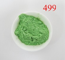 pearl pigment,pearlescent pigment,mica powder pigment,effect pigment,item:499,color:shimmer green,20 gram a lot,free shipping...