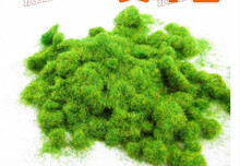 Home & Garden DIY manual construction sand table model material outdoor landscape lawn turf grass nylon powder(China)