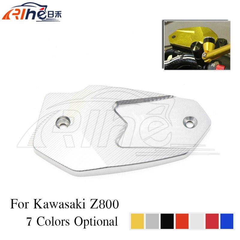 new hot selling 7 colors optional motorcycle accessories cnc aluminum brake pump olpidium cover titanium color for kawasaki z800<br><br>Aliexpress