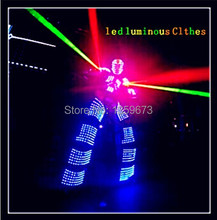 Fast DHL Shipping New Led Luminous Dress Stage/LED Ballroom Dance Dress2016 / Costume Dancer /America's got talent Performance(China)