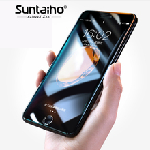 Buy Suntaiho 5D Tempered Glass iphone 7 8 Plus Screen Protector HD Film IPhone 6 6Plus Curved Edge Proetective Glass Film for $2.90 in AliExpress store