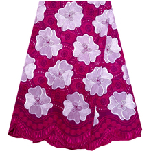 Special Design 2016 New Arrivals Fuchsia African Swiss Voile Lace High Quality,100% Cotton swiss African wedding lace dress.