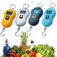 4 Colors Portable 4 Units 40kg LCD Digital Scale Electronic Market Kitchen Scale Weight Tool Luggage Scale 170 x 75 x 23mm(China)