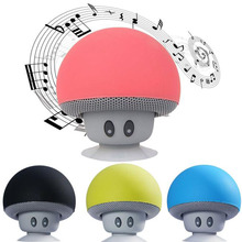 Puscard New Mini Portable Cute Wireless Handsfree Speaker Hoparlor With Super Bass Stereo Bluetooth For PC Tablet Phone Suction(China)