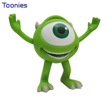 Mike Wazowsk Savings Monsters University Piggy Bank Top Quality Vinyl Decor Big Eye Boy Money Box Safe Storage Doll Able To Move(China)