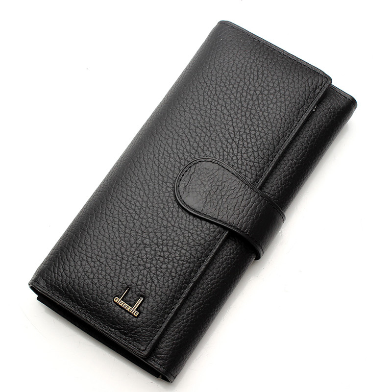 2017 new fashion womens wallets female long design genuine leather wallet cowhide womens wallet female High-quality coin purse<br><br>Aliexpress