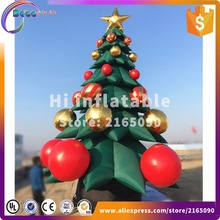 5m high inflatable christmas tree for the christmas holidays decoration